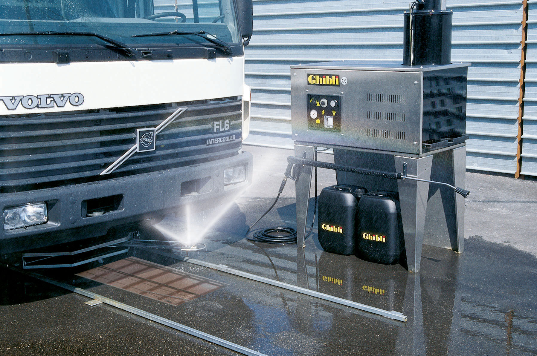 Chassis clean 1